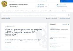 ЕИС услуга регистрации