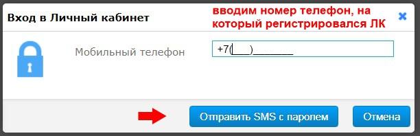 ввести номер телефона для выпуска ЭЦП