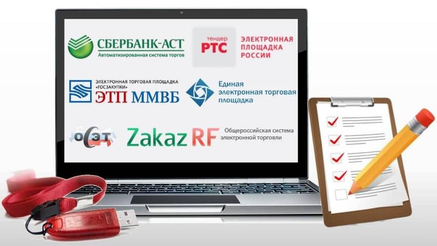 Как зарегистрировать новый сертификат электронной подписи на ЭТП (госзакупки)