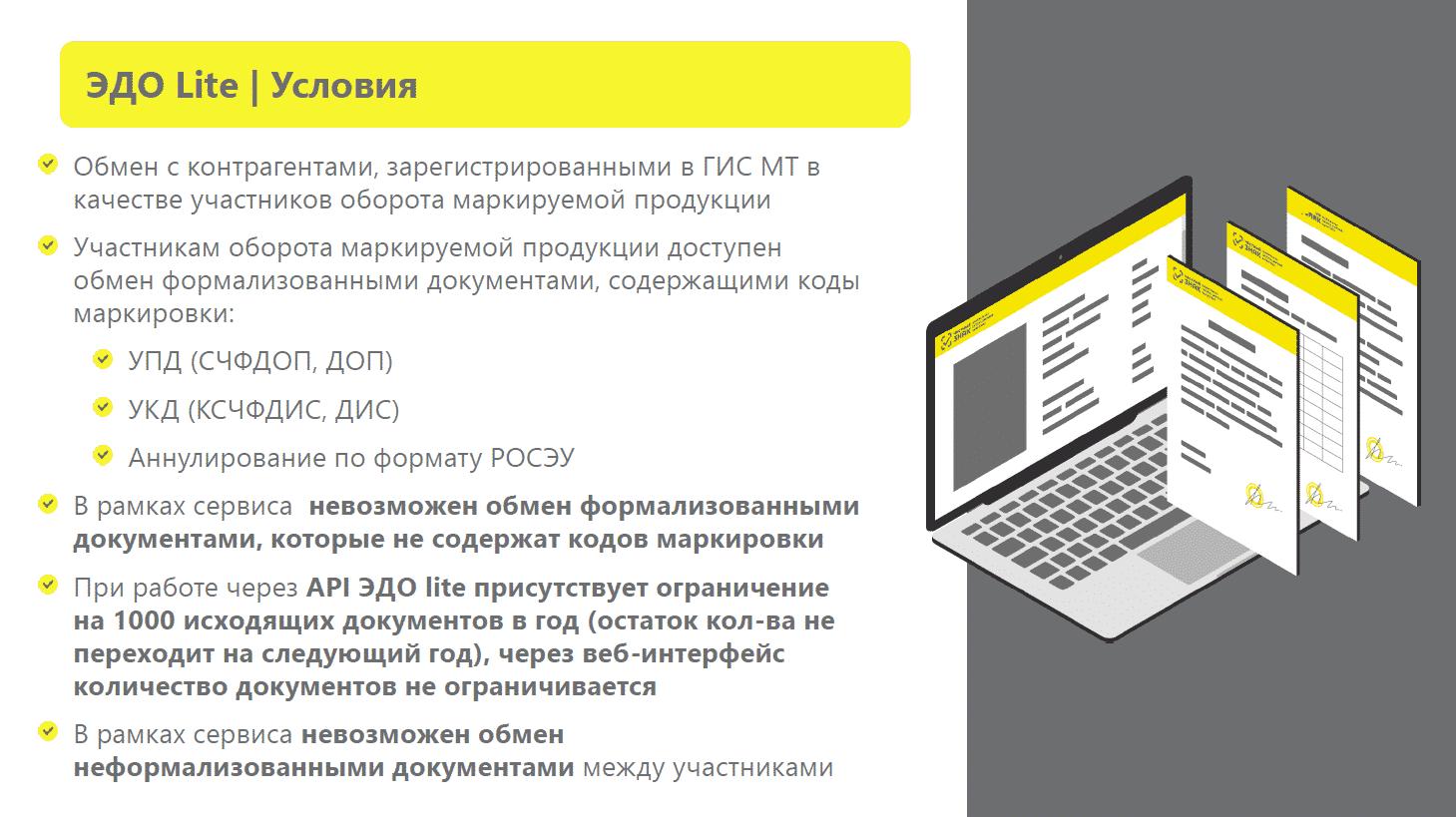 Электронный документооборот и маркировка